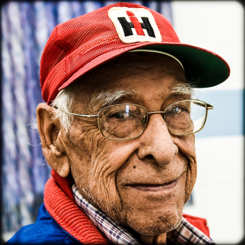 91-year-old Sam Vasquez